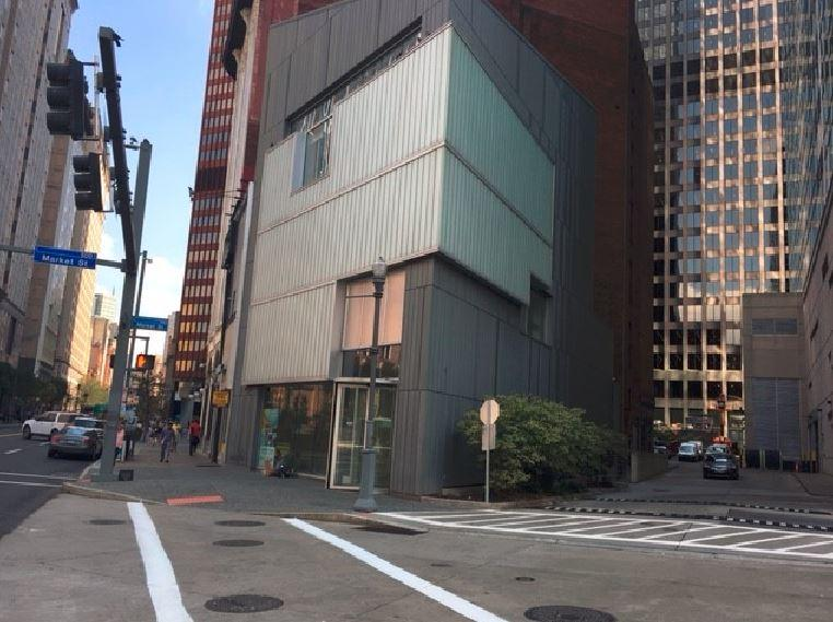 The Lantern Building on Liberty Avenue downtown could become a police substation.