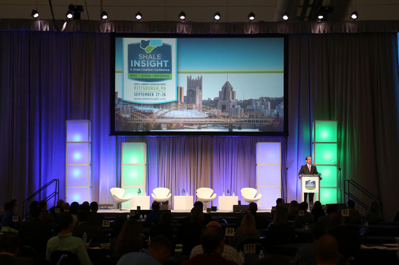 The Shale Insight energy conference kicked off Wednesday, Sept. 27, 2017, at the David L. Lawrence Convention Center with opening remarks from U.S. Labor Secretary Alexander Acosta, who said he drove to Pittsburgh himself.