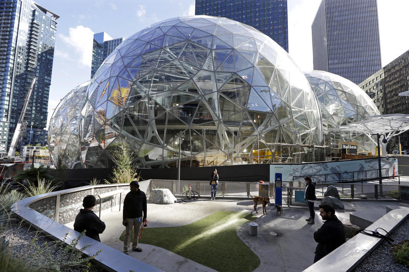 Amazon occupies nearly 20 percent of office space in Seattle. In its North America-wide search for a second headquarters, HQ2, the company expects to grow to a similar size, estimating up to eight million square feet of development.