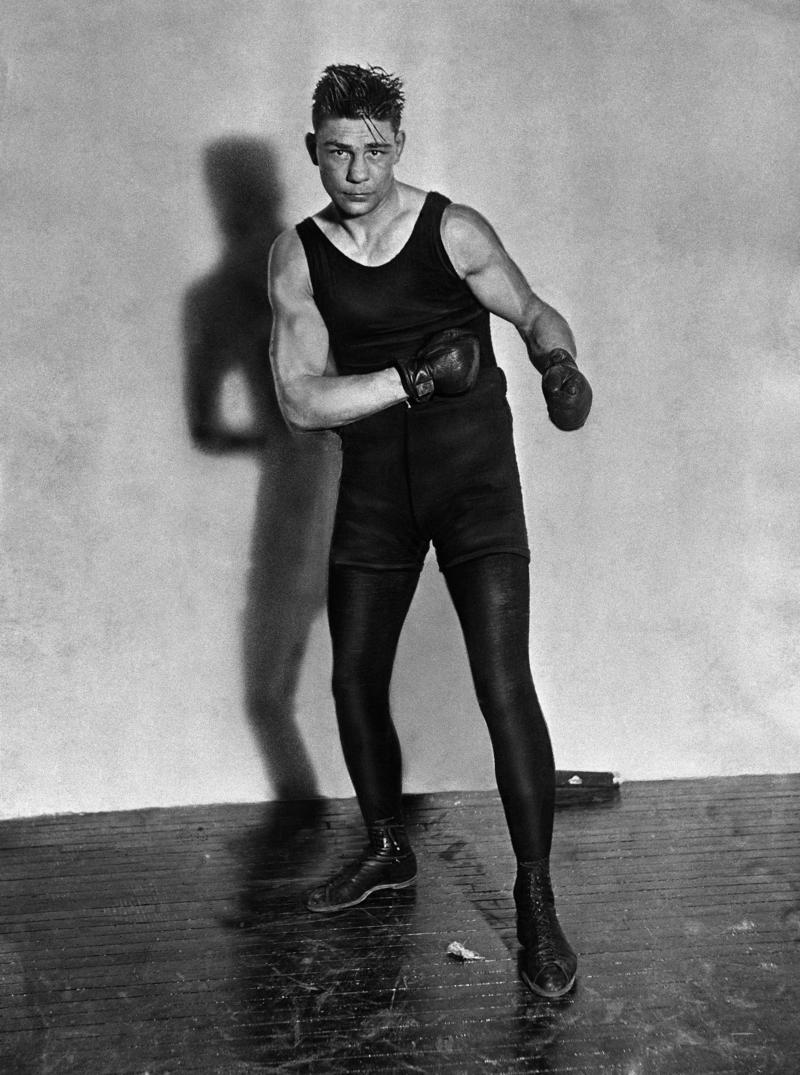 Greb Harry poses on Feb. 21, 1926.