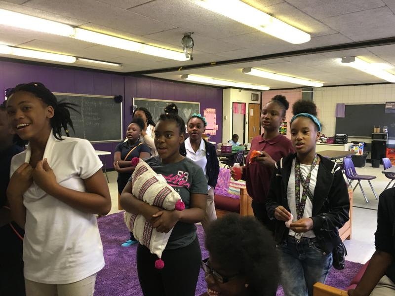 The after-school program at Gwen's Girls serves about 100 girls across four locations.