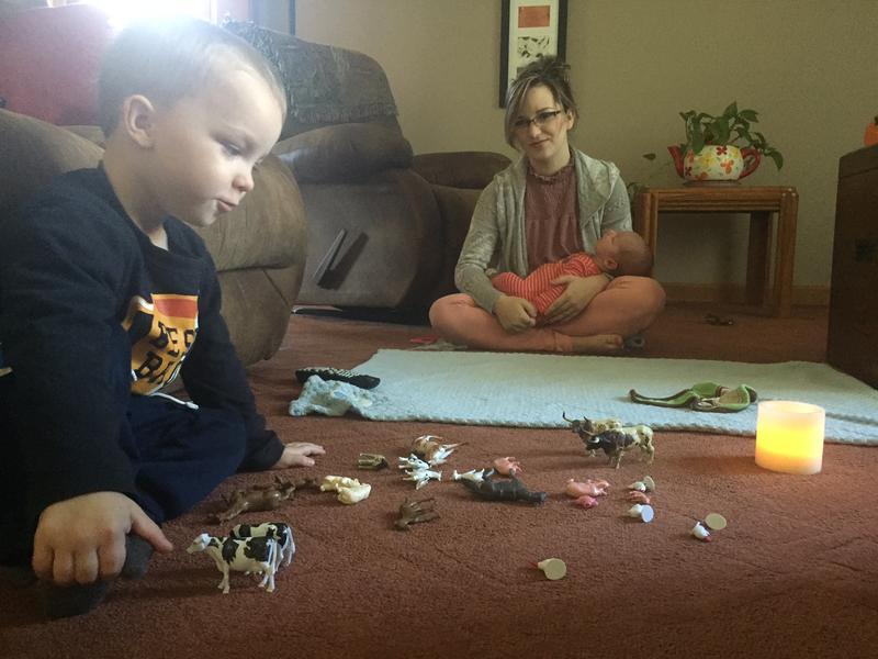 Courtney Bittner of Somerset County is currently on maternity leave, caring for her sons Bentley and Nash.