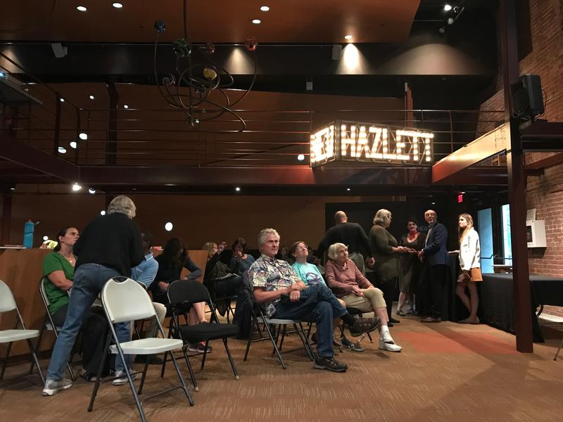 Residents gathered at the New Hazlett Theater Thursdsay night to hear preliminary recommendations to restore Allegheny Commons Park.