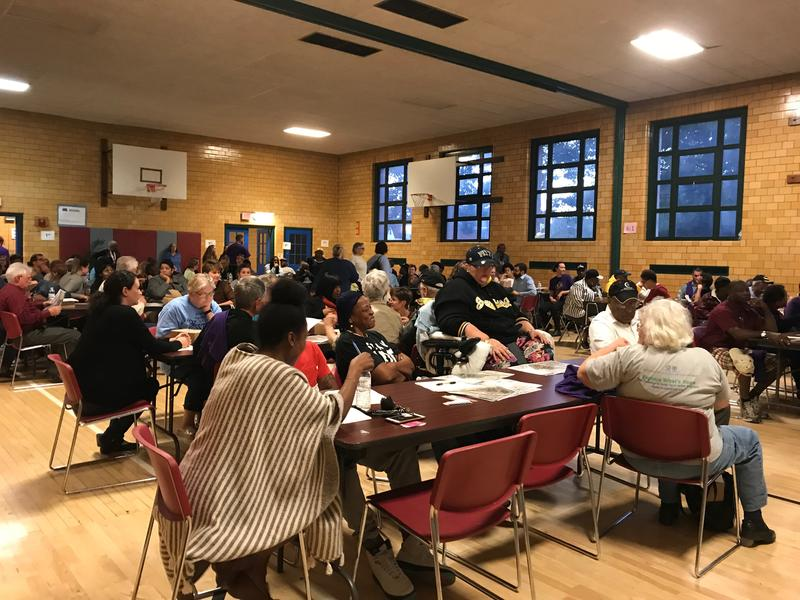 Nearly 200 Hazelwood residents packed the neighborhood's elementary school last week to participate in the first community meeting to create the Greater Hazelwood Neighborhood Plan.