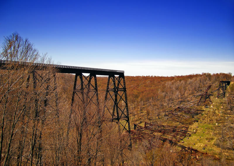 Kinzua Bridge State Park in McKean County.