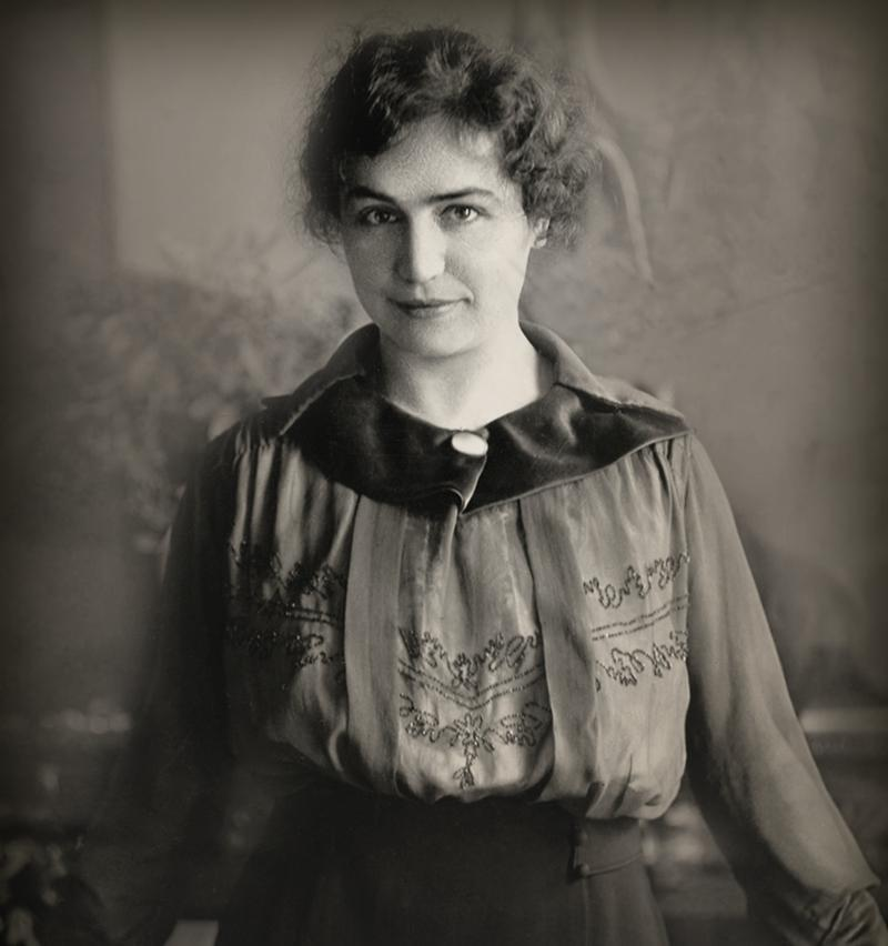 Silent filmmaker Lois Weber, circa 1915. Weber grew up in Pittsburgh and moved to New York and the Hollywood as an actress, writer and director. She eventually owned her own production company and was one of the highest paid directors at the time.