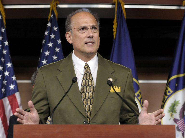 In this photo, U.S. Rep. Tom Marino, R-PA, speaks at a news conference on Capitol Hill in Washington.