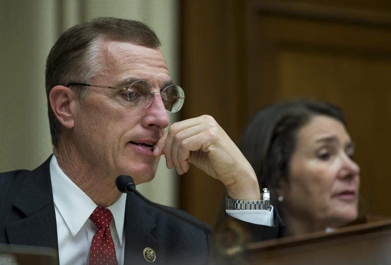 Rep. Tim Murphy presides over a hearing of the House Oversight and Investigations Committee on Thursday, October 8, 2015.