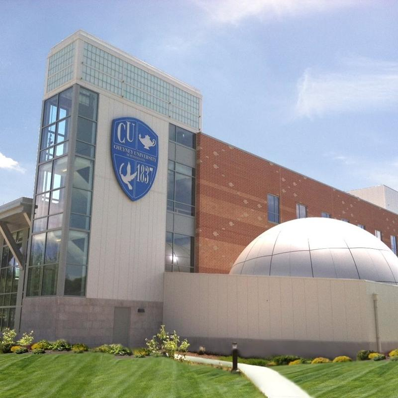 Cheyney University's new science center on their campus in Cheyney, Pa.