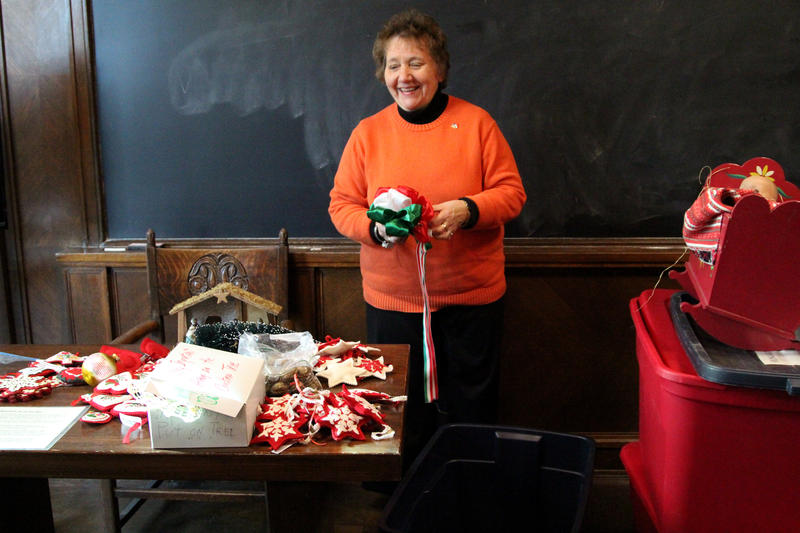 Kathy Novak is Vice President of the Hungarian room committee.