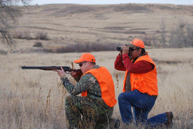 More than half-a-million hunters were estimated to have taken to the woods Monday with the opening of rifle deer hunting season.