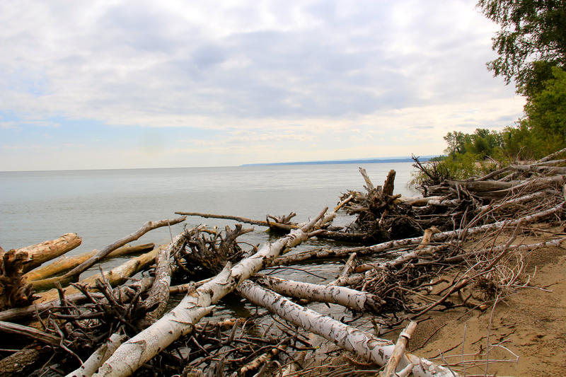 Presque Isle State Park in Erie, Pa. pictured here in 2012. Two men were killed during a confirmed tornado in Erie on Sunday night.