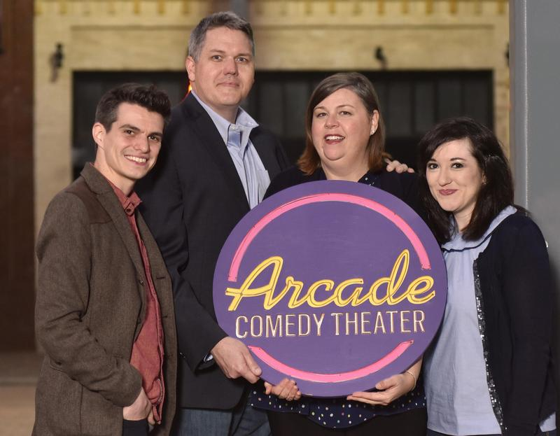 The creative directors of the non-profit Arcade Comedy Theater are preparing for the grand opening of its new space on November 3.