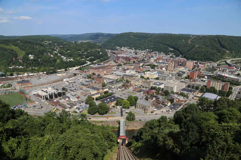 Johnstown is a city of 19,000 residents situated at the confluence of two rivers and surrounded by hills.