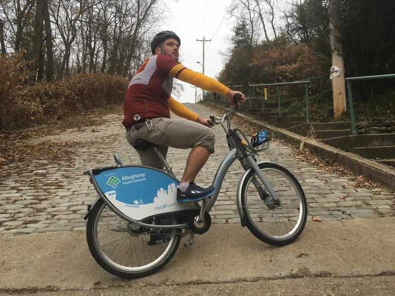 Jeremiah Sullivan will make his second attempt at completing the Dirty Dozen bike race on a Healthy Ride bicycle the Saturday after Thanksgiving.
