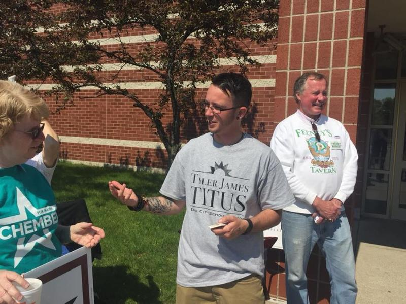 Tyler Titus has become the first trasngender candidate to win an elected position in Pennsylvania. He'll serve on the Erie Public School Board.