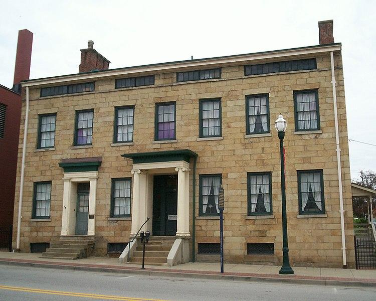 The former home of F. Julius LeMoyne, a doctor and philanthropist, in the city of Washington, Pa. Now the site is preserved as a historic house museum and the headquarters of the Washington County Historical Society.