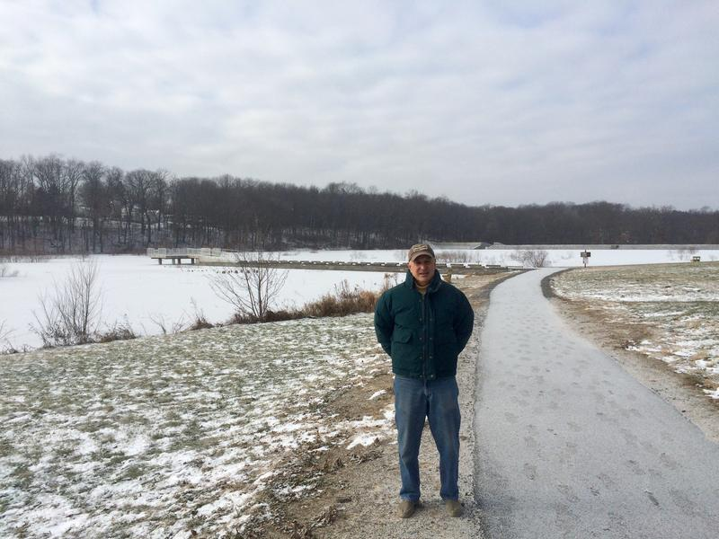 Siggy Pehel, a retired postmaster, has led the ongoing restoration efforts of Glade Run Lake in Middlesex Township, Butler County.