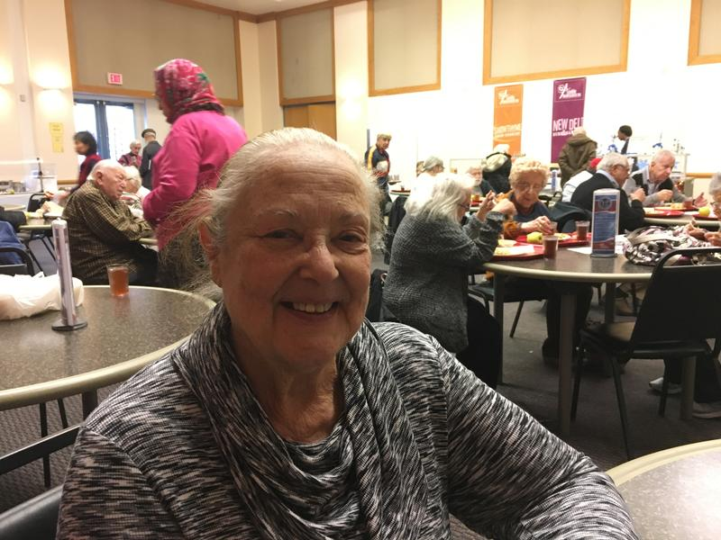 Loretta Kinger has been eating lunch at the Jewish Community Center in Squirrel Hill almost every day for 17 years.