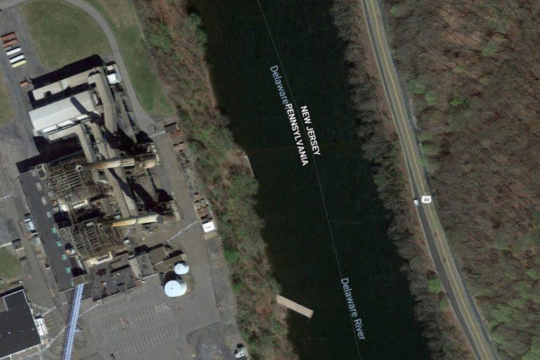 The Portland Generating Station sits on the Delaware River, about two hours north of Philadelphia and right across the border from New Jersey.