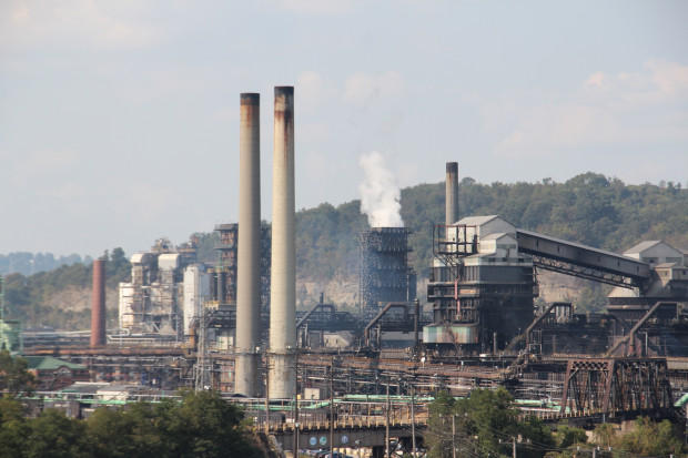 Pictured is Clairton Coke Works, located near Pittsburgh.