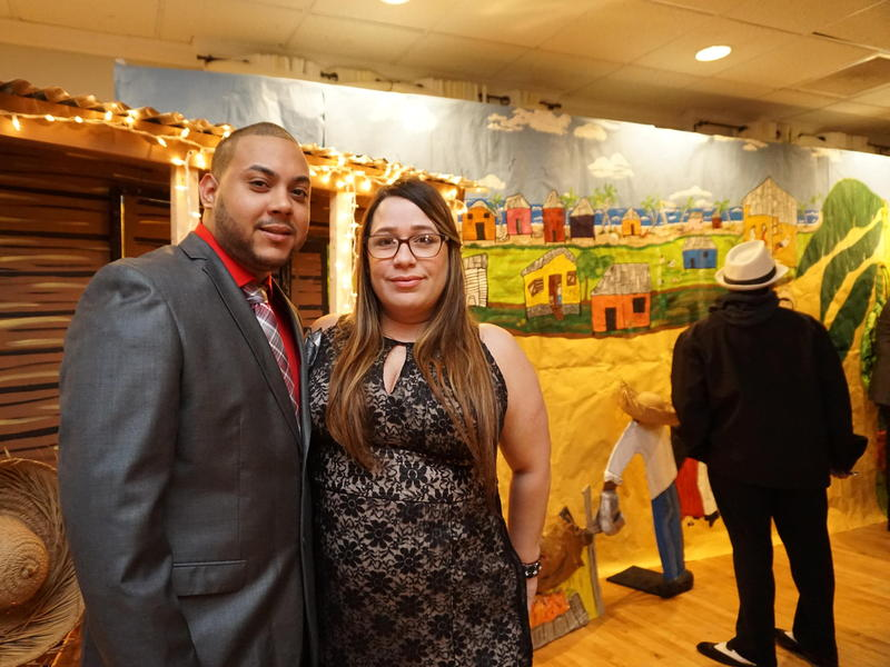Miosotis Castro, her husband Francisco Alvarado and their three children lost their home when Hurricane Maria tore through Puerto Rico in September. Eventually they made their way to Providence, Rhode Island, where they've been living with relatives for t