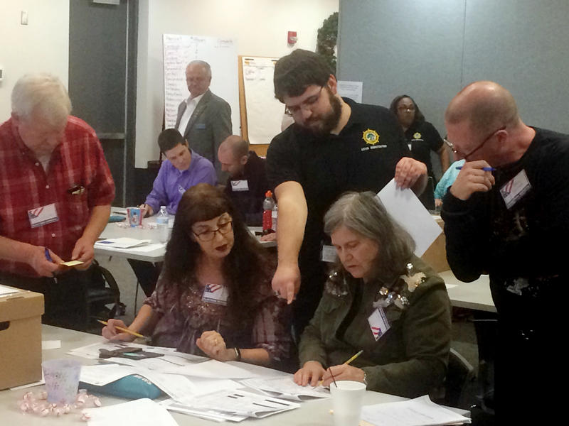 Following a recount in December 2017, elections officials in Newport News, Va., determined that two candidates had tied for a state House seat.