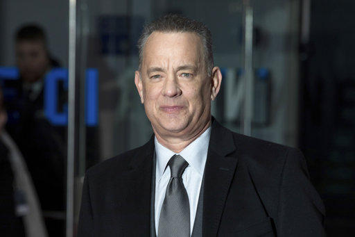 "Tom Hanks at the premiere of ""The Post"" in London on Wednesday, Jan. 10, 2018."