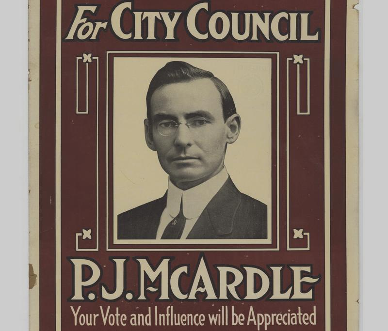 Peter J. McArdle was an Irish-Catholic labor leader who came to Pittsburgh at the turn of the 20th century and served on Pittsburgh City Council for three decades. But he's perhaps best remembered for the roadway to Mt. Washington that bears his name.