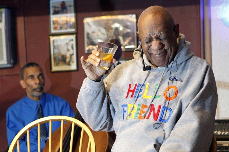 Bill Cosby performs comedy at the LaRose Jazz Club in Philadelphia on Monday, Jan. 22, 2018.