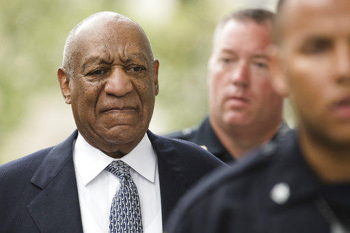 Bill Cosby arrives for a pretrial hearing in his sexual assault case at the Montgomery County Courthouse in Norristown, Pa., Tuesday, Aug. 22, 2017. He's being retried on the same charges after a jury was hung in June.