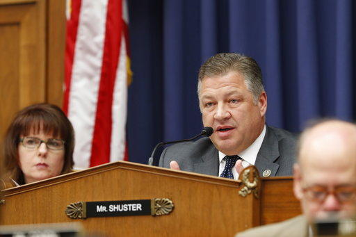 Republican Rep. Bill Shuster, pictured above, announced he will not seek re-election after 17 years in office.