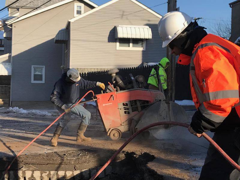 One of the challenges facing PWSA is aging infrastructure. In January, authority PWSA crews and contractors repaired more than 100 water main breaks.
