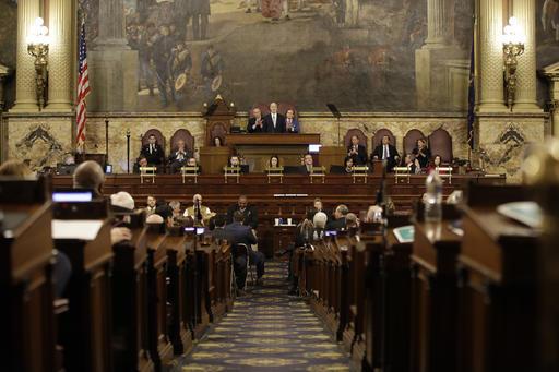 In this photo, the Pennsylvania legislature meets on Tuesday, Feb. 7, 2017.