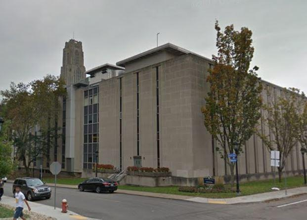 On the corner of Bigelow and Ruskin, Crawford Hall makes up one-third of the University of Pittsburgh's Life Sciences Complex where a small explosion Wednesday, Jan. 31, 2018, prompted a brief evacuation.