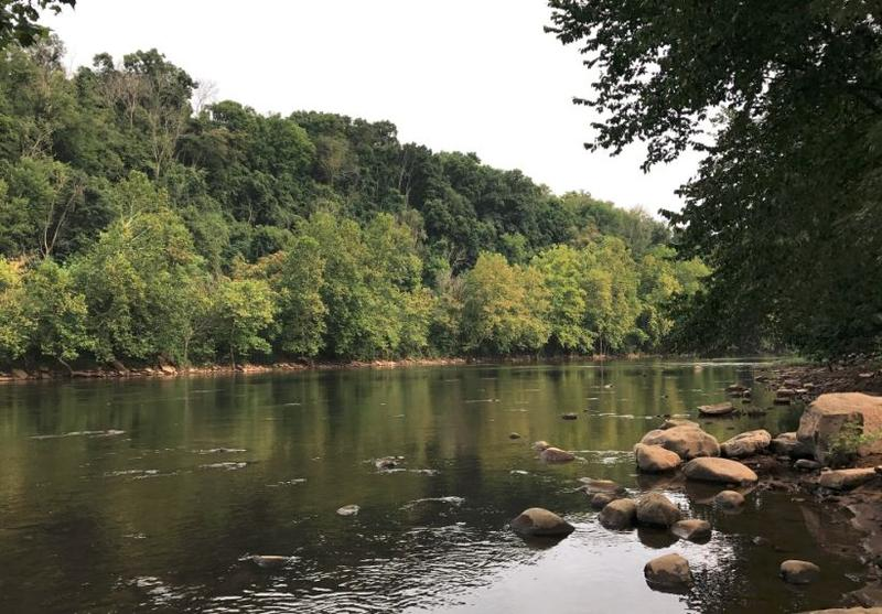 Pictured above is the Youghiogheny River, where it flows through Connellsville. A new study finds that U.S. freshwater rivers are getting saltier.