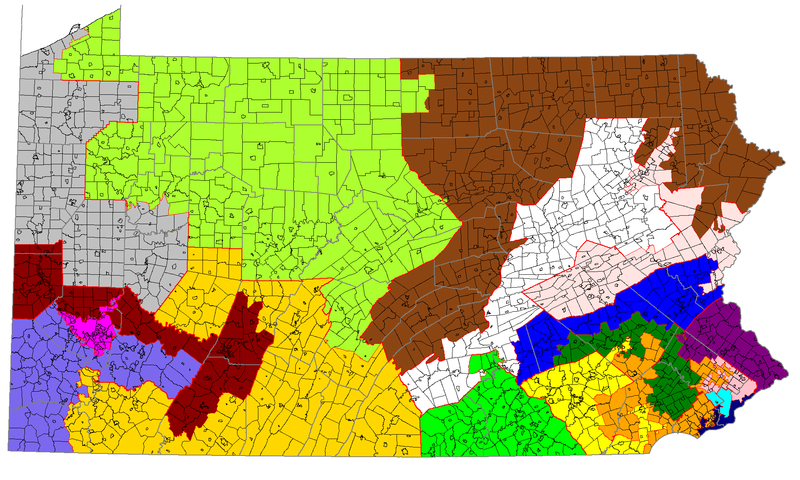 Lawmakers say they won't be able to come up with a new map for Pennsylvania's 18 congressional districts by their Friday, Feb. 9, 2018 deadline.