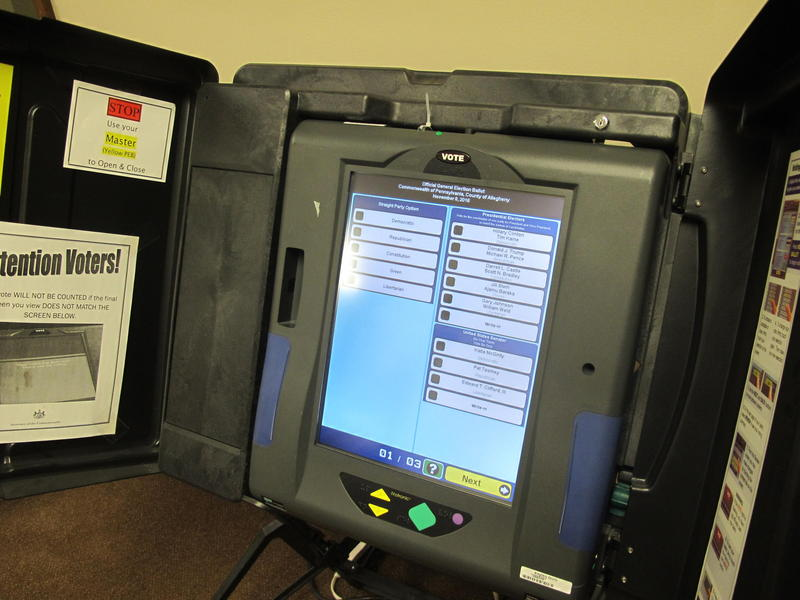 Allegheny County has nearly 5,000 voting machines on Election Day. Gov. Tom Wolf says it's time for the electronic voting machines to leave a paper trail to prevent against hacking the system.