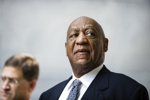Bill Cosby departs after a pretrial hearing in his sexual assault case at the Montgomery County Courthouse in Norristown, Pa. on Aug. 22, 2017.