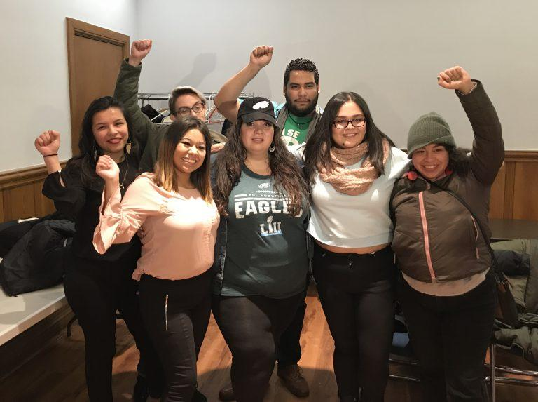 Philly DACA beneficiaries and members of Juntos call on the Eagles to boycott a customary White House visit for Super Bowl winners.