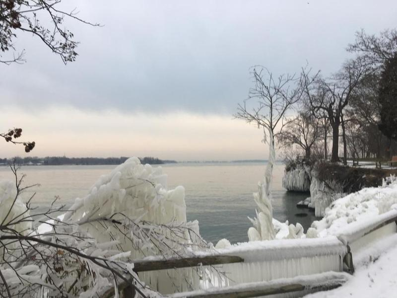 Winter on Lake Erie