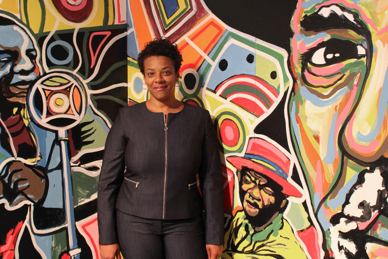 Janis Burley Wilson, CEO and President of the August Wilson Center.