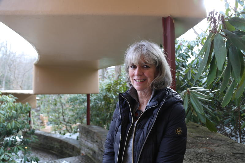 Lynda Waggoner began her career at Fallingwater as a teenage tour guide in the 1960s.