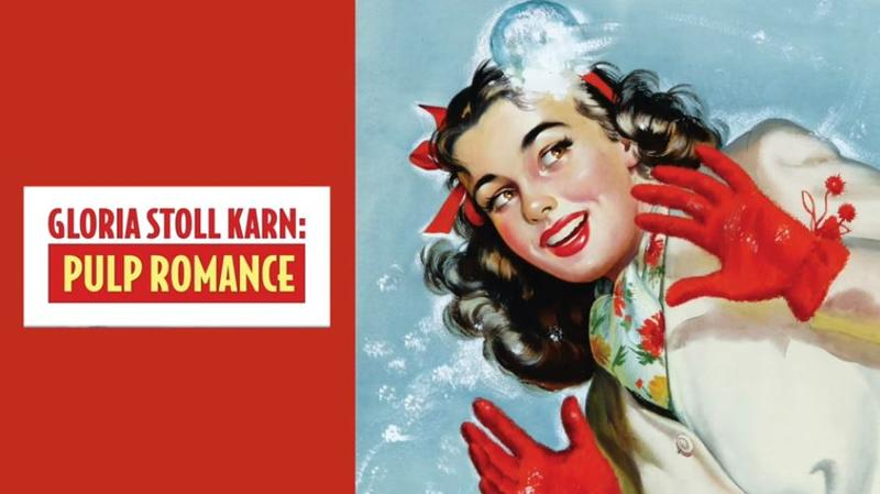 The work of Pittsburgh pulp fiction illustrator and artist Gloria Stoll Karn is on display through June 10, 2018, at The Norman Rockwell Museum in Stockbridge, Mass.