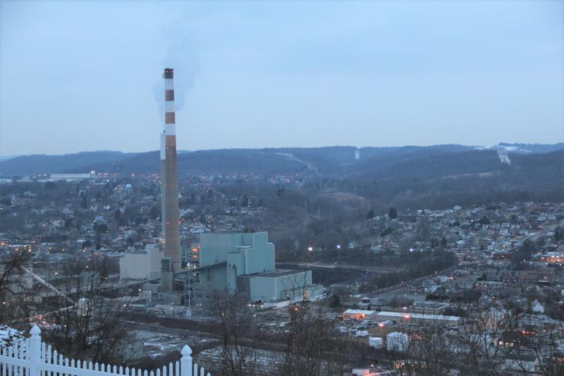 The coal-fired Cheswick Generating Station produces electricity northeast of Pittsburgh.