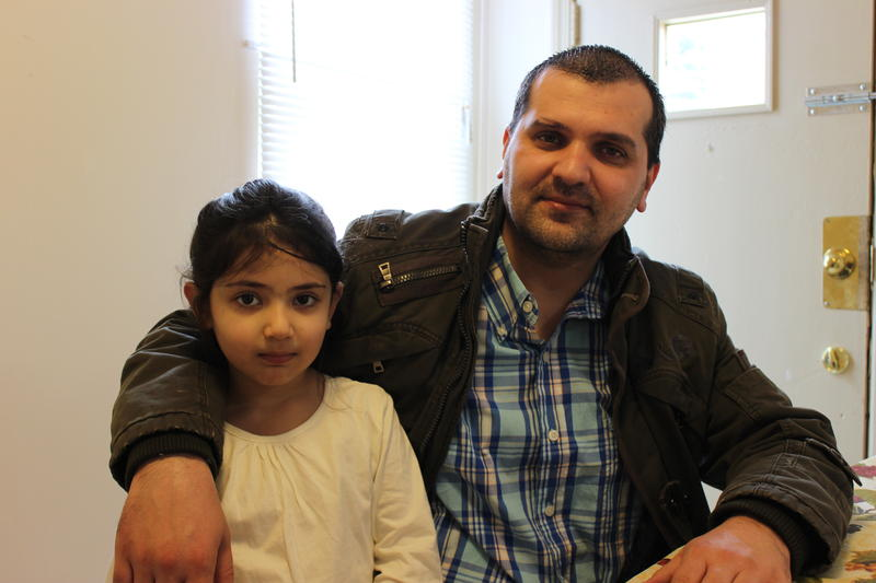 Munir Zazai lives with his 5-year-old daughter Hena and wife Helay in Knoxville.