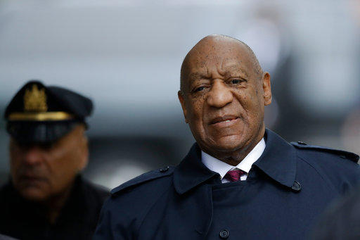 Bill Cosby arrives for his sexual assault case in Norristown, Pa.