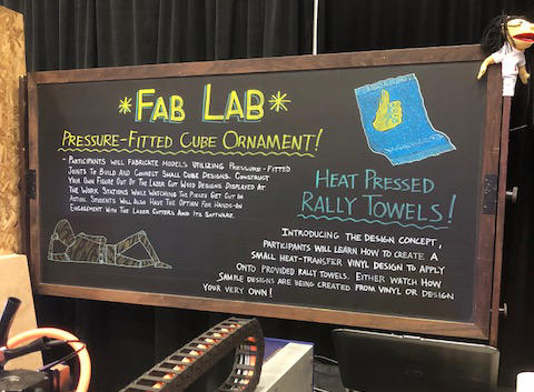 """Students from Intermediate Unit 1's Colonial Campus showed off their """"Fab Lab"""" at a STEM-related festival in Washington, D.C. this week."""