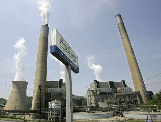 FirstEnergy's Bruce Mansfield plant in Shippingport, Pa.