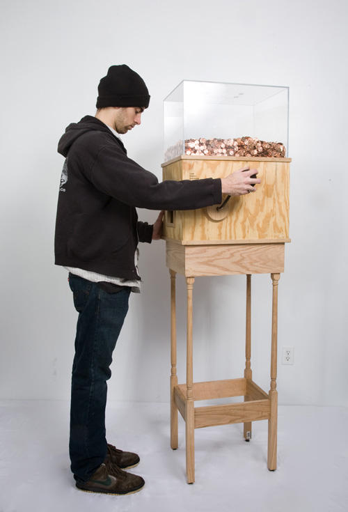 "Blake Fall-Conroy's ""Minumum Wage Machine"" is part of ""Marx@200"""